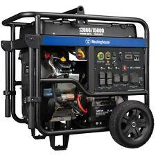 Westinghouse Wgen12000 12000 Watt Electric Start Portable Generator With Wire