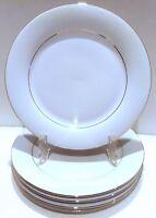 Vintage Salad Dessert Plates, Sakura Classic Gold, Dinnerware, Set of 4 Plates