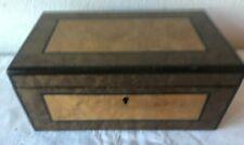 Antica scatola in legno - cofanetto- portabijoux