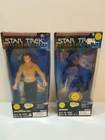 "Star Trek 12"" Guinan And Christopher Pike Action Figures Collector Series NEW"