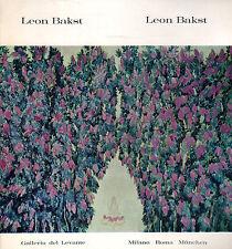 Leon Bakst- AA.VV. Galleria Levante editore, illustrato  -ST858