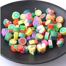 50  Acrylperlen  10 mm Fädelloch 1,5 mm Kinder Perlen basteln
