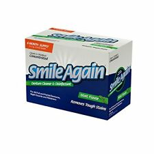 Smile Again- Denture, Mouth Guard, Night Guard, Retainer Cleaner & Disinfectant