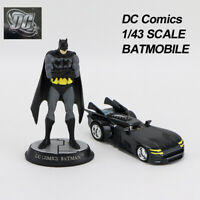 CORGI DC Comics 1/43 2000 Batmobile& Hand Painted Statuette Chassis Art Collect