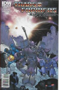 TRANSFORMERS - HEART OF DARKNESS #2 A - Back Issue (S)