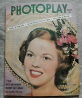 PHOTOPLAY~ august 1949 SHIRLEY TEMPLE cover-great pic's-ad's-gossip-vintage