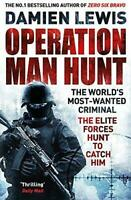 Operation Man Hunt by Damien Lewis Paperback NEW Book