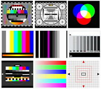 CA TV Test Card / Video Pattern Generator & Test Tones DVD: NTSC | PAL | SECAM