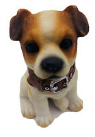 "Jack Russell Terrier Detailed Dog Figure 3 1/4"" Resin Puppy Figurine Doggie"