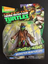 2017 Tales Of The Teenage Mutant Ninja Turtles MONSTER HUNTER LEO Brand New Toy