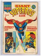 Planet Comics Giant Superboy Comics #11 VG/F 1974 Australian