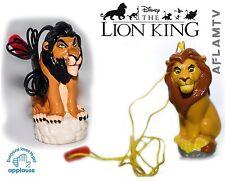 Lion King Scar vs Simba PVC pen cap figure Disney Figurine Guard Sunkisses