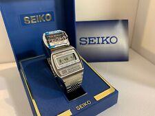 Seiko C359-5000 Calculator Chrono-Alarm  Quartz LCD LED Watch