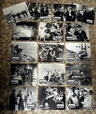 HAIE UND KLEINE FISCHE * 16 Aushangfotos 1. WA - Ger L C  Anfang-1970er FELMY