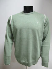 HARMONT&BLAINE maglione uomo lana girocollo H1065 col.VERDE SALV tg.3XL inv.2012