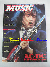 Rivista MUSIC 139/1991 AC/DC Robert Palmer Julian Cope Spike lee Resident No cd