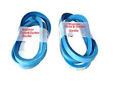 2 Courroie trapézoïdale pour Système d'entrainement MTD 754-04038/754-04039