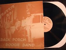 BACK PORCH BOOGIE BAND - Crankin Up! - Private Vinyl 12'' Lp. Louisiana Country