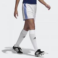 Adidas Shorts Womens Medium White Blue Authentic Climacool Tastigo 17 Soccer