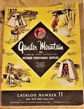 Vintage Gander Mountain Catalog Number 11 May 1970 through June 1971.