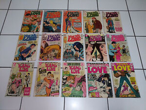 Young Love - DC Comics - Romance - Dating - BIG Lot - LOW Price - Vintage
