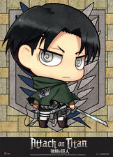 Attack on Titan SD Levi Fabric Poster (Wall Art) *NEW*