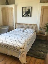 Mid Century Design - Kingsize bed frame from John Lewis wooden Oak