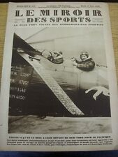 13/03/1928 le MIROIR DES SPORTS MAGAZINE: numero: 417, il contenuto da includere, INTER