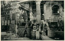 BETHLEHEM PALESTINE CHURCH OF NATIVITY ISRAEL ANTIQUE REAL PHOTO POSTCARD RPPC