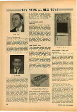 1946 PAPER AD Article Streamlined Autowagon Coaster Wagon Toy Peltoy Xylophone