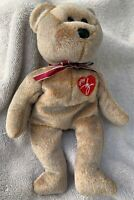 Ty Ty Signature Bear 1999 Original Beanie Baby Retired Collectible