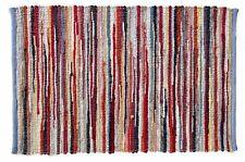 Handgewebter  Bunter drehbarer Teppich in verschiedenen Größen Multicolor