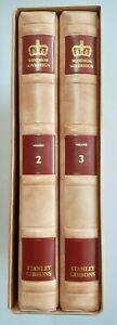 Windsor Sovereign Stanley Gibbons. Two albums & slipcase. Very good condition.