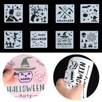 - handwerk schichtung schablonen happy halloween scrapbooking paintingtemplate