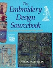 The Embroidery Design Source Book: Inspiration from Around the World-ExLibrary
