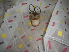 Antique Vtg. French Woven