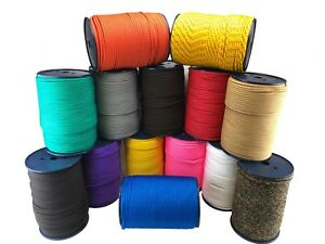 6mm Braided Polypropylene Poly Rope Cord Paracord Drawstring Choose Your Length