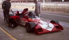 PHOTO  DON WOOD IN THE PITLANE WHILE HIS F1 SURTEES TS9B/006-DFV HSCC SILVERSTON