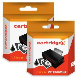 2x Black Ink Cartridge Compatible With HP 10 Business Inkjet 1100d 1100tn C4844A