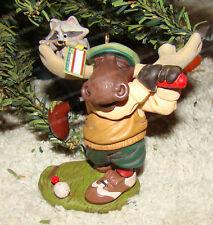 In the Holiday Swing (Hallmark Keepsake Ornament, Qxg2201) Moose Golfing, 2008