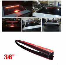 "Waterproof 36""LED Car Rear Windshield Roofline Third High Brake Tail Light Strip"