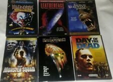 horror dvd lot of 6 day of the dead halloween leatherface monster squad killer