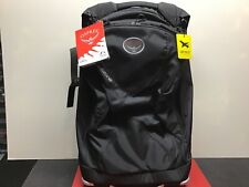 """Osprey Ozone Wheeled Carry-on 46L 22"""" Black O/S Green interior NWT ($229 MSRP)"""