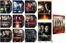 Supernatural: The Complete Series Seasons 1-12 DVD 1 2 3 4 5 6 7 8 9 10 11 12