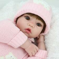 "20"" Handmade Reborn Newborn Dolls Christmas Gifts Vinyl Silicone Baby Girl Doll"