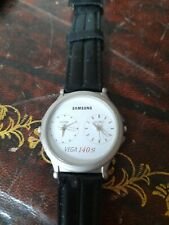 Gents Samsung cameras VEGA 140s Home & World Time Watch Working order