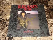 Black Sabbath w/ Tony Iommi Rare Glenn Hughes Signed Seventh Star Record + COA