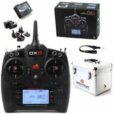 New Spektrum DX8 Gen 2 8 Channel DSMX TX Only Mode 2 SPMR8000 With Carrying Case