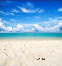 10x20 FT Sunny Beach Vinyl Photography Backdrop Background Studio Props MG176