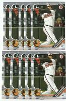x600 KYLE STOWERS 2019 Bowman Draft 76 Rookie Card RC lot/set Baltimore Orioles